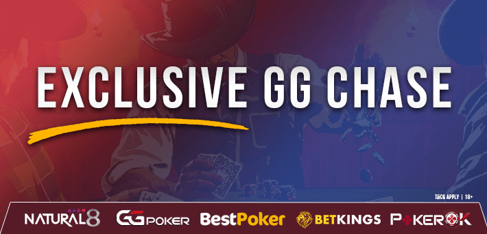 Earn up to 30% rakeback in our new Exclusive GG Chase! - More than €130,000 in Exclusive VIP-Grinders Promotions in July!