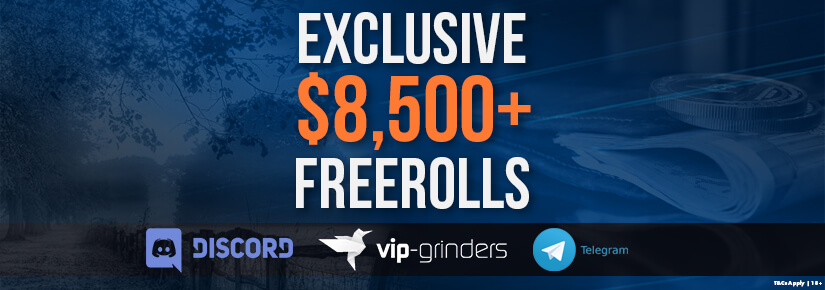 Exclusive $8,500 Private Freerolls