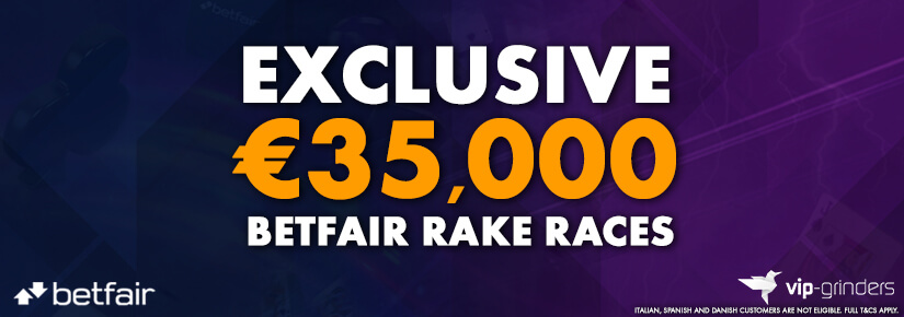Exclusive €35,000 Betfair Races July