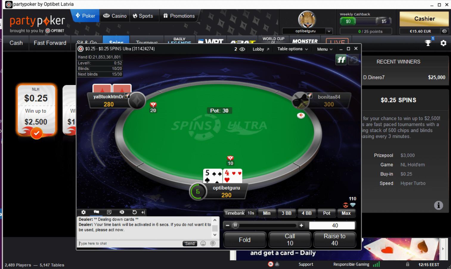optibet poker review