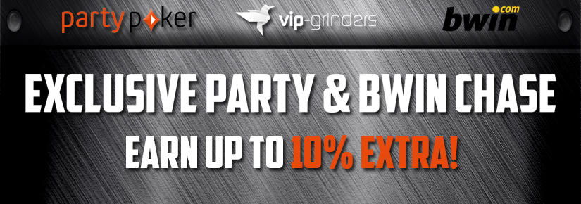 Exclusive partypoker & bwin chase