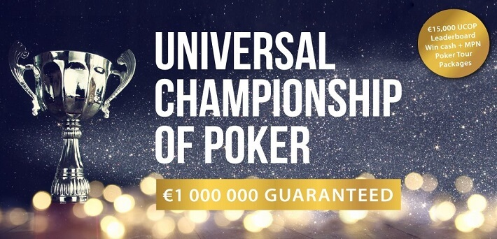 Coming Universal Championship of Poker boasts the biggest prize pool ever at MPN!