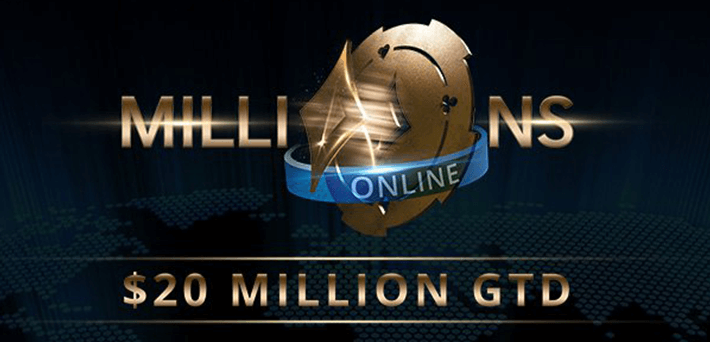 Partypoker MILLIONS Online – Pim de Goede and Manuel Ruivo chop for $2.3 Million each, Online Qualifier Scarmak3r turns $5 into 1.4 Million Dollar!