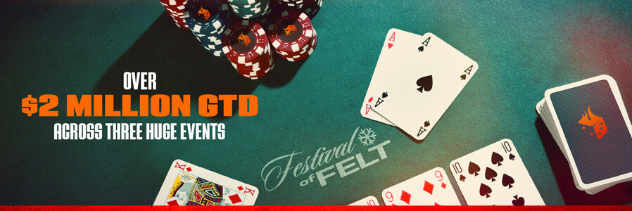 More than 2 Million Dollar GTD in the Festival of Felt at the PaiWangLuo Network