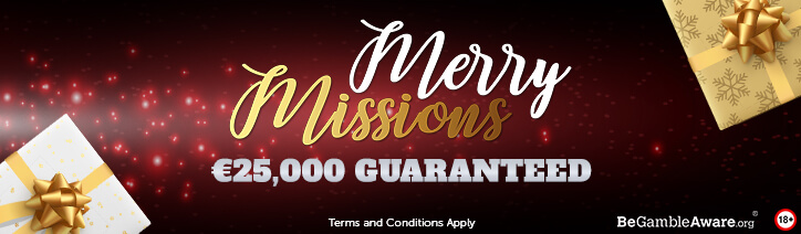 MPN Merry Missions Christmass Poker Promotions