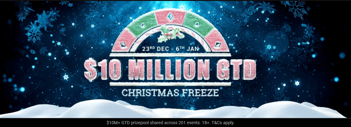 Christmas Freeze Partypoker