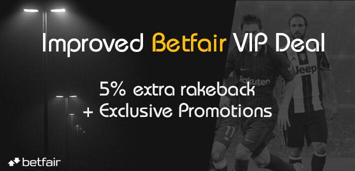 Betfair VIP Deal