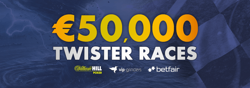 €50,000 Twister Races by online poker affiliate VIP-Grinders