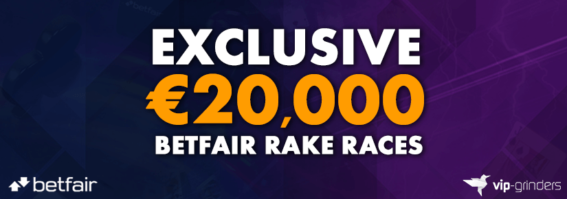 Exclusive €20,000 Betfair Rake Race