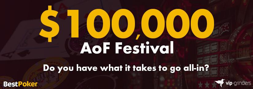 $100,000 AoF Festival