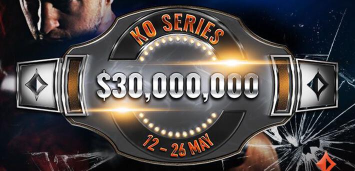 $30M GTD partypoker KO Series 2nd weekend schedule