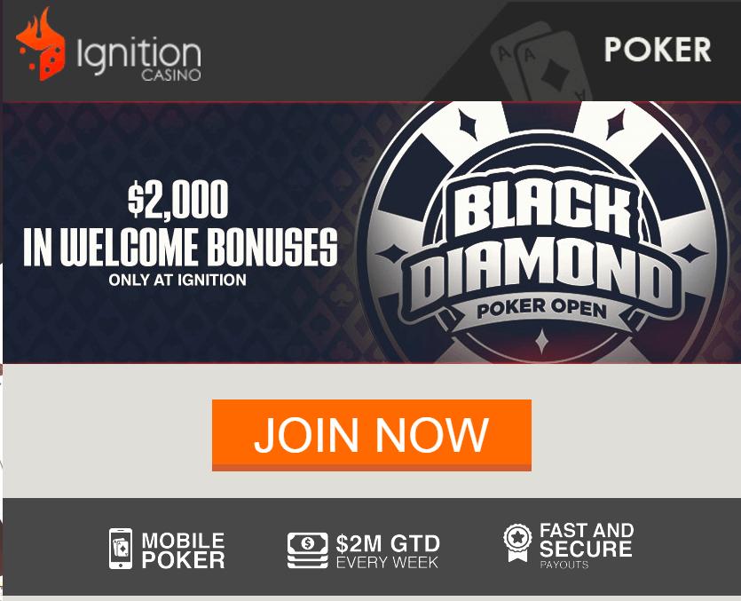 Ignition Poker Bonus Get A Huge 2 000 First Deposit Bonus At Ignition