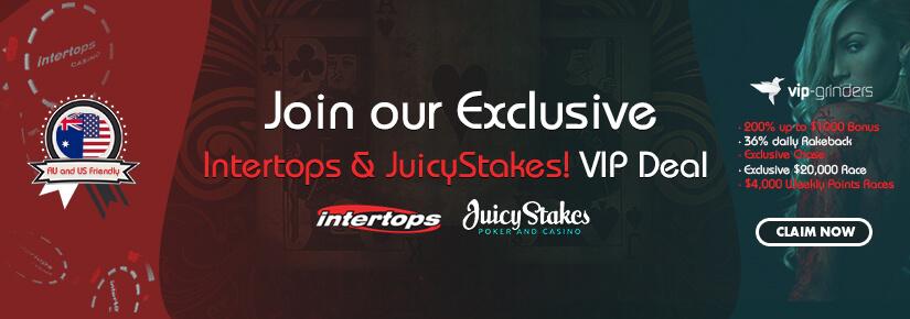 Exclusive Intertops & JuicyStakes Chase