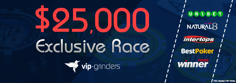 $25,000 Exclusive Race January