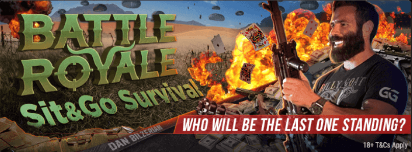 $10 Battle Royal Sit & Go Ticket