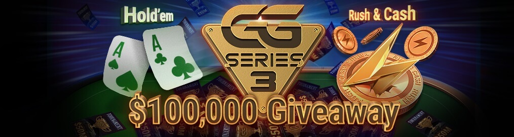 $100,000 GGSeries 3 Giveaway