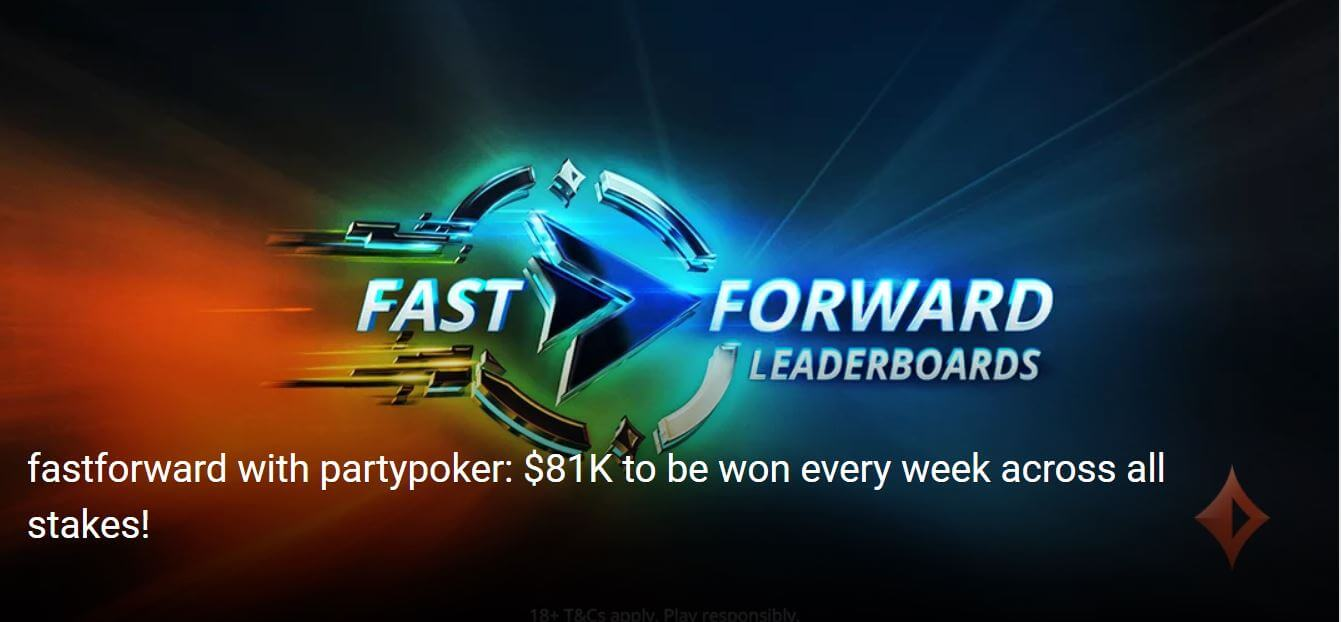 Fast Forward Leaderboard partypoker