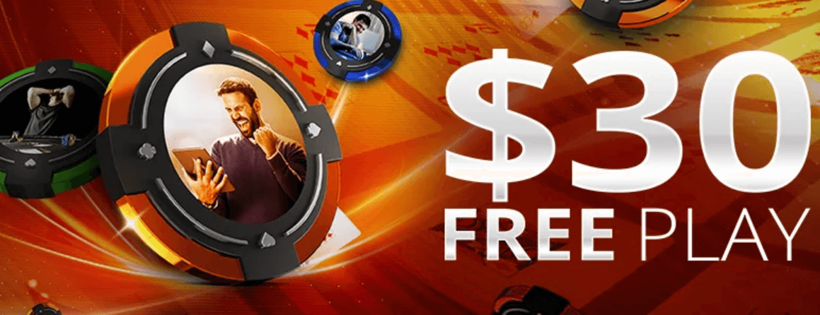 partypoker FREE Play offer – up to $30