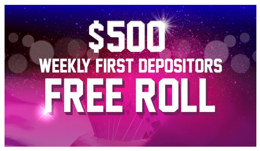 $500 Depositors Poker Freerolls