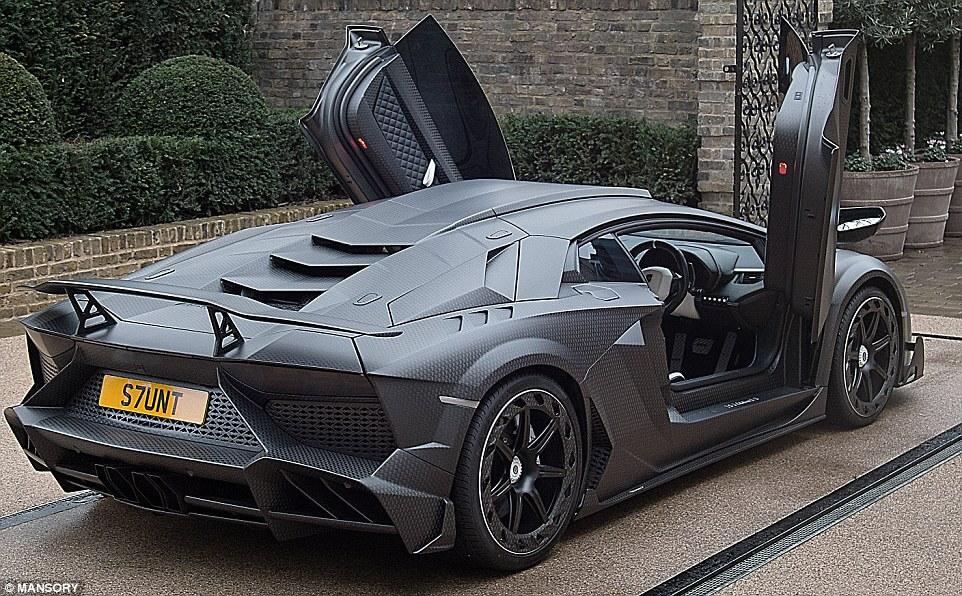 James Stunt's Lamborghini