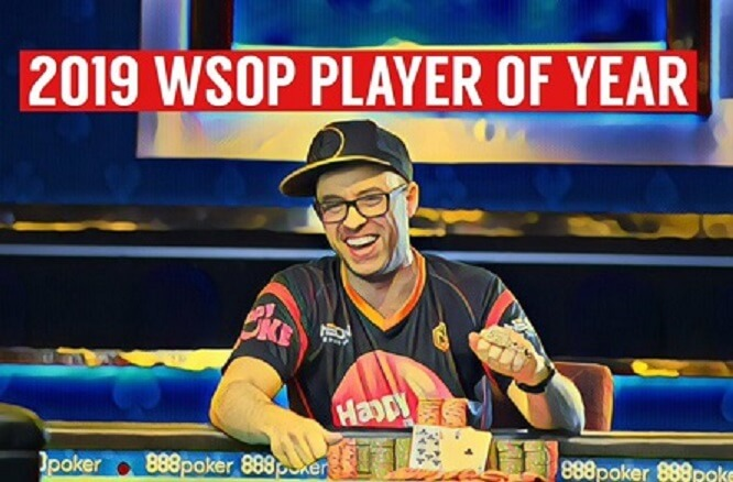 Robert Campbell is WSOP Player of the Year 2019!
