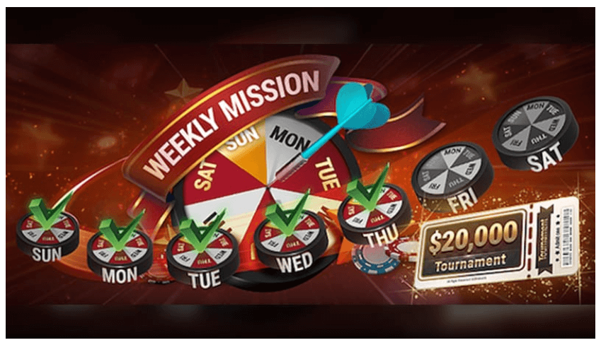 Natural8 Weekly Missions