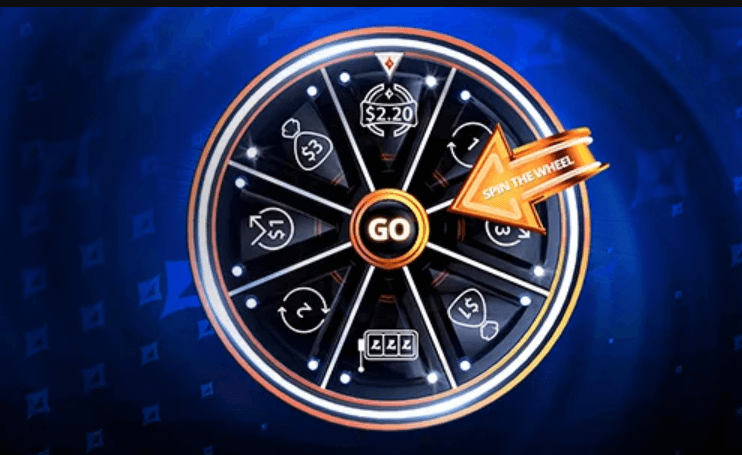 partypoker Wheel