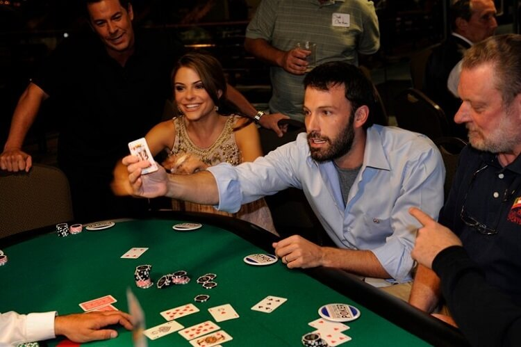 Ben Affleck poker