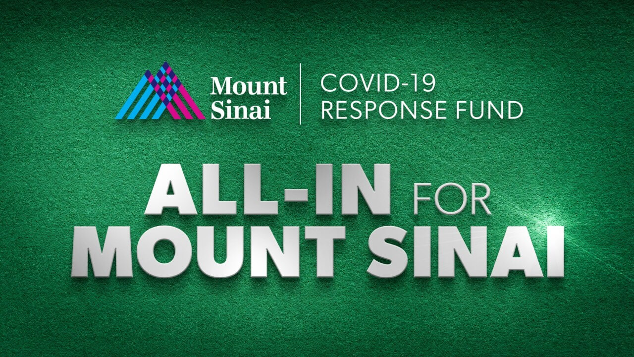 All In for Mount Sinai Charity Poker Tournament with Phil Hellmuth and Ben Affleck at Americas Cardroom