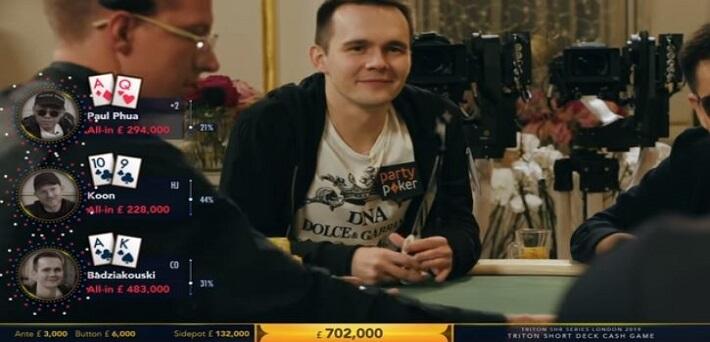 Watch Episode 1 of the £3,000/£6,000 Triton Poker London Short Deck Cash Game