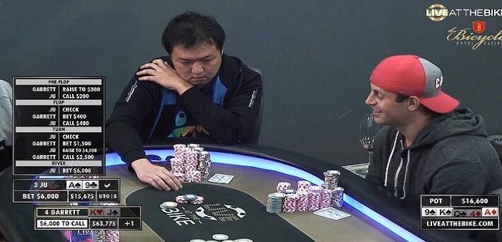 Poker Hand of the Week - Nasty River for Garrett Adelstein - Can he fold?