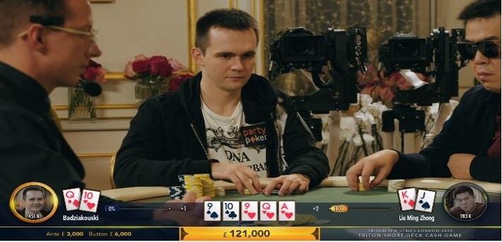 Poker Hand of the Week - Mikita Badziakouski