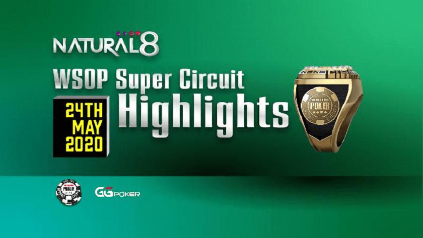 Acara Pembaruan WSOPC 12 +13 - Acara Utama GTD $ 5.000.000 pada hari Minggu 31 Mei