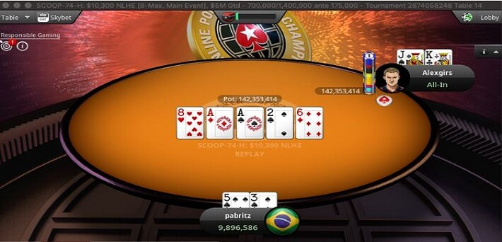 Poker Hand of the Week - The Call of the Year by Alexgirs to win the SCOOP Main Event