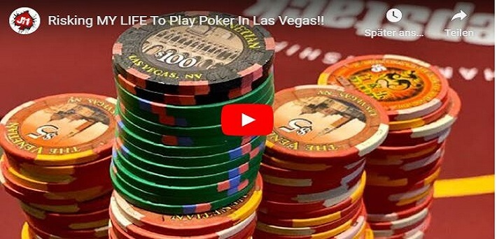 Joe Ingram risks his life playing live poker in Las Vegas, releases Top Influential Poker Players of All Time