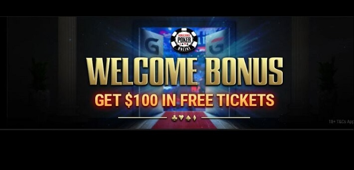 New WSOP Welcome Bonus by GGPoker: Get $100 in Free Tickets!