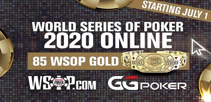 BREAKING NEWS: 2020 WSOP to take place online at GGPoker!