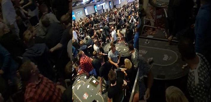 Massive Brawl Breaks Out At King S Casino During Balkan Poker Circuit