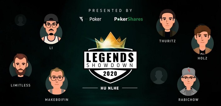 Run It Once Poker launches HUNL Legends Showdown featuring 8 top Heads-Up players