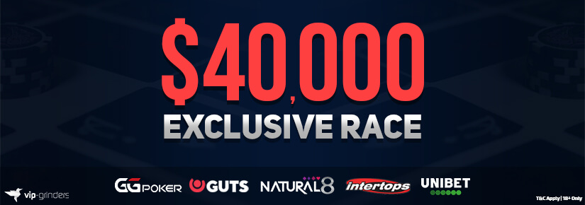 $40,000 Exclusive Race May