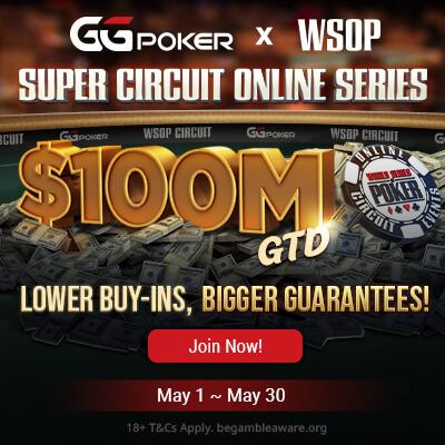 GGPoker $100M Super Circuit Online Series