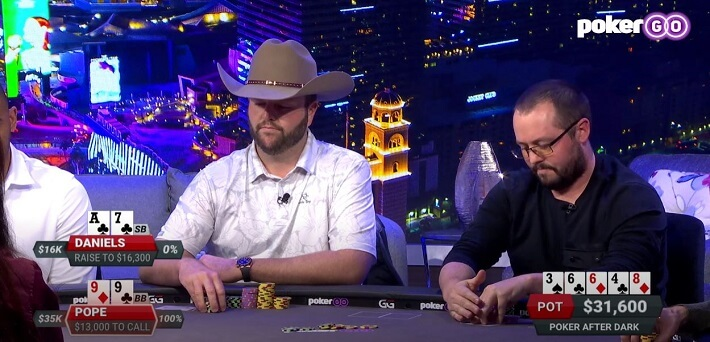 Poker Hand of the Week – Jake Daniels attempts a huge Check-Raise Bluff on the River