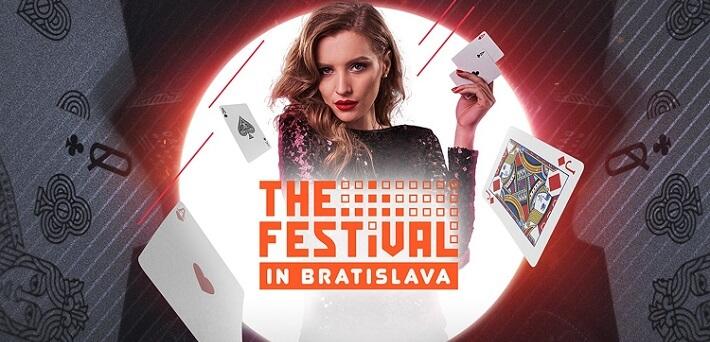 Win 1 of 3 x $1,500 packages for The Festival in Bratislava at Guts Poker