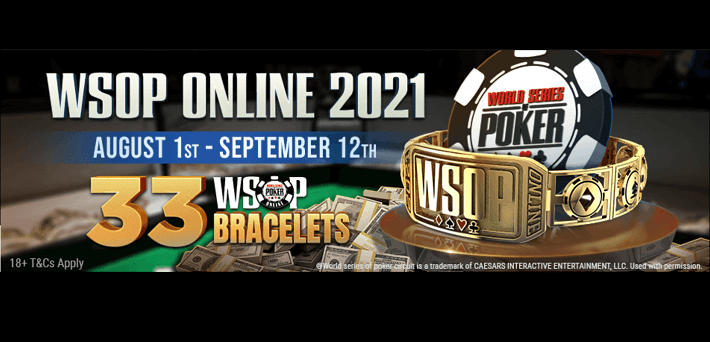 Win one of 3 x $500 WSOP tickets in our exclusive VIP-Grinders Freerolls!