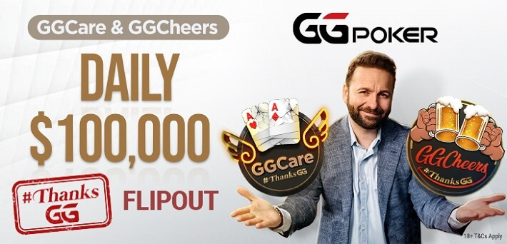 GGNetwork rewards lucky players with $100,000 Freeroll Tickets via new GGCheers promotion