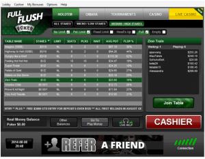 Full Flush Poker Lobby