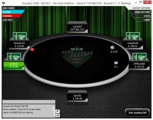 Full Flush Poker Table